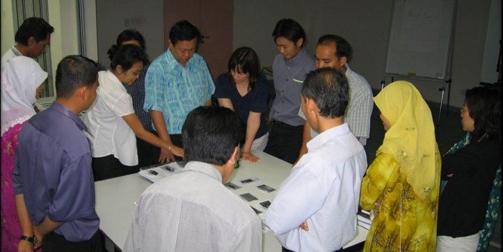 International training of people