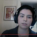 screenshot of Brittani Orona