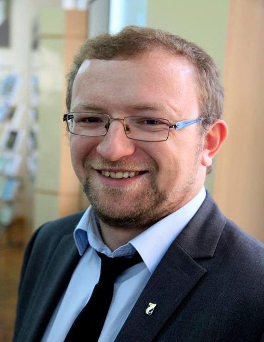 Portrait of Dr Artsiom Nazaranka