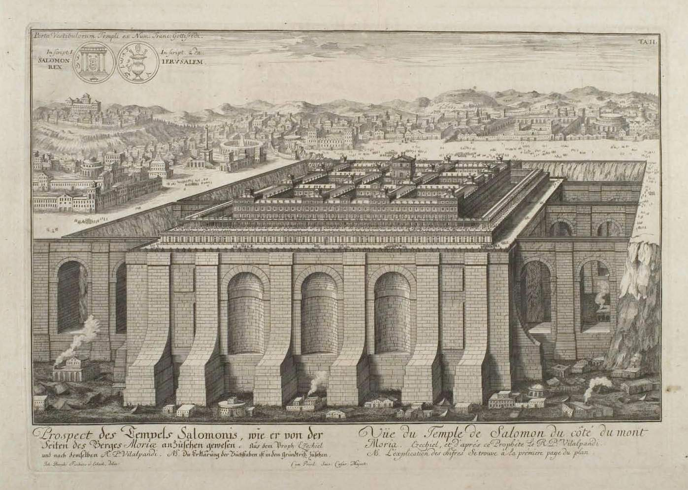 Drawing of the Temple of Solomon