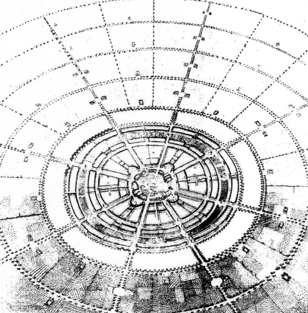A circular pattern