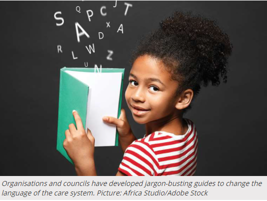 Jargon busting guides