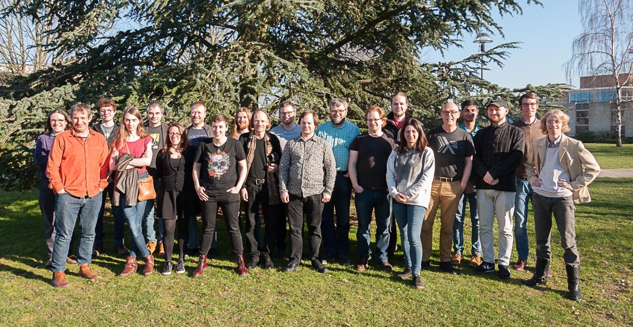 Group photo of members