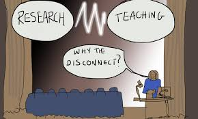 research teaching why the disconnect?