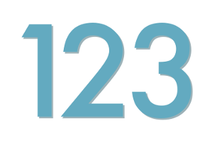 numbers a1- image